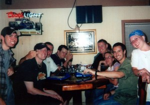 The Gang at Friday's, 2003