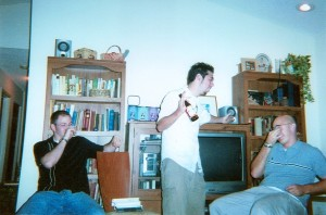 Andrew, Zach, and Wes, Summer 2004